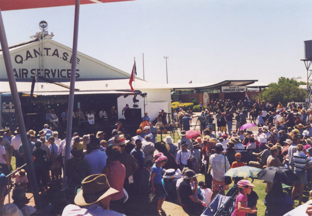 Launch of the QANTAS Outback Founders Museum, Stage 2